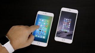 Обзор iOS 9 GM и сравнение с iOS 8.4.1