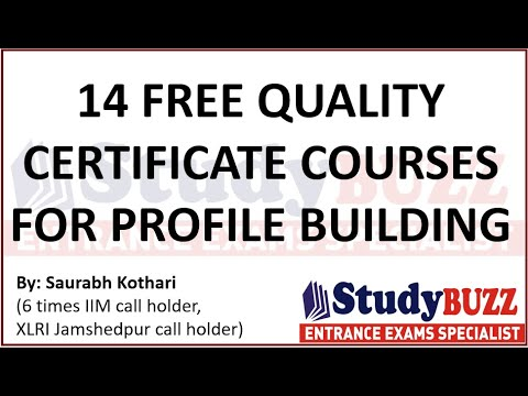 Lockdown Extended: Do these 14 high quality free certificate ...