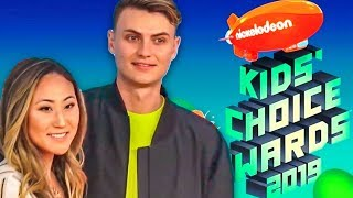 I WENT TO THE KIDS CHOICE AWARDS with CARTER SHARER!!