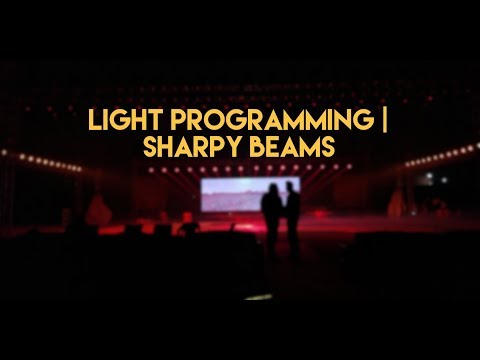 Light Programming & Testing | Sharpy Beam 300 7r | Avolite Pearl | Special Light Effects