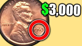 CHECK YOUR 1963 PENNY FOR THESE RARE PENNIES THAT ARE WORTH MONEY!!