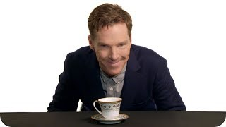 Бенедикт Камбербэтч, Benedict Cumberbatch Makes a Perfect Cup of Hot Tea // Omaze