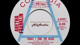 Aretha Franklin - Today I Sing The Blues / People - 7″ DJ Promo - 1969