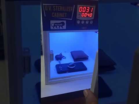 U.V. Sterilizer Cabinet