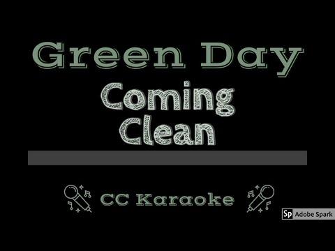 Green Day • Coming Clean (CC) [Karaoke Instrumental Lyrics]