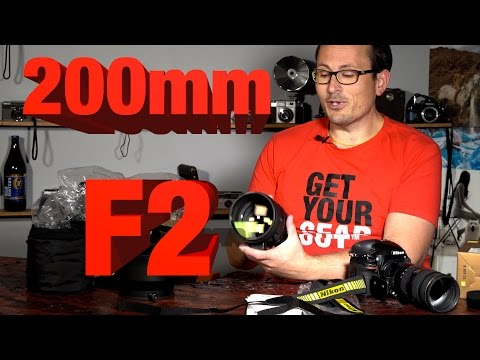 Nikon 200mm F2 - Unboxing