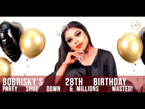 BOBRISKY Runs Away Heartbroken After Police Shut Down His 19 Million Birthday Bash