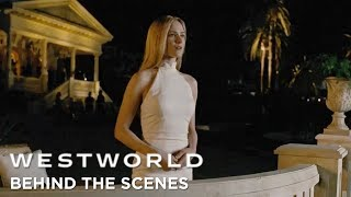 Behind The Scenes: Delos Mansion   Saison 2