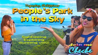 Peoples Park In The Sky Tagaytay Philippines Must see  travel vlog