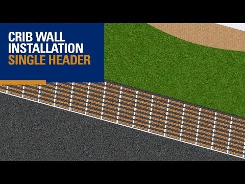 Crib Wall - Single Header (3D Animation)