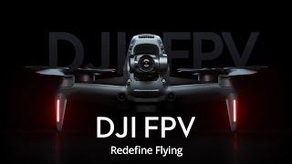 DJI FPV DRONE IS FINALLY HERE!!