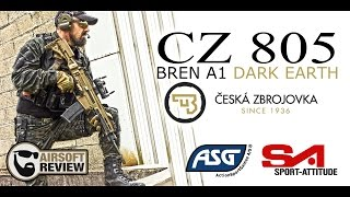CZ 805 BREN ASG / SPORT ATTITUDE # AIRSOFT REVIEW [ENG SUB]