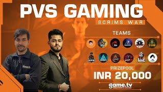 PVS Gaming Grand Finals - Powered by Game.tv | India's #1 Mobile Esports Platform