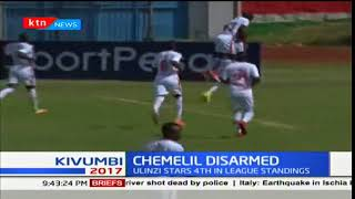 Ulinzi Stars move to fourth in KPL after winning against Chemelil Sugar in Nakuru