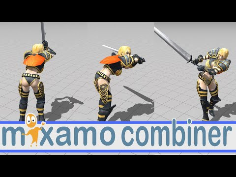 Mixamo Character Animation Combiner