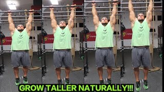 5 Natural Ways to Grow Taller | Reach Your Full Height Potential!