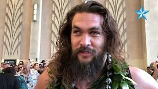 'Aquaman' star Jason Momoa performs haka at Hawaii premiere