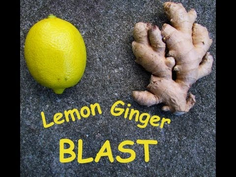 Video Lemon Ginger Blast - A Healthy Juice Recipe