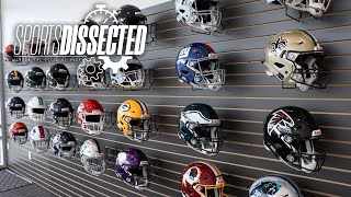 How a FOOTBALL HELMET is MADE at Riddell HQ | Sports Dissected