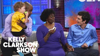 Biological Father Surprises Family To Thank Them For Adopting His Son | The Kelly Clarkson Show