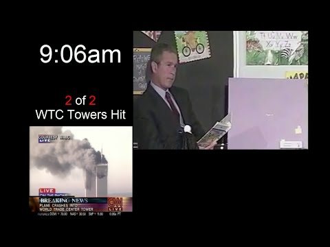 , title : 'Bush's reaction to 9/11 (Full Classroom Footage)'
