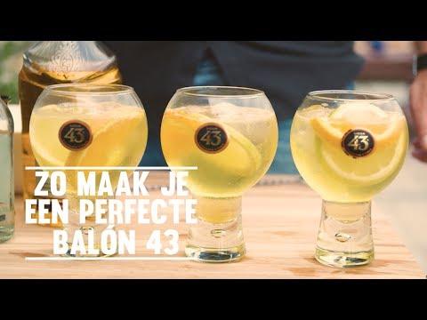 Video Zo maak je de Balón 43 cocktail van Licor 43!