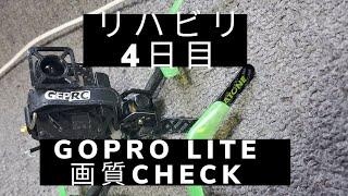 U199 3Inch FPV Drone FreeStyle/GoproLITE画質CHECK