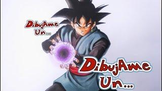 Como Dibujar a GOKU BLACK/BLACK. How To Draw BLACK GOKU - DRAGON BALL SUPER