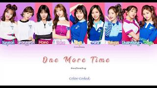 One More Time Color Coded Lyrics| TWICE