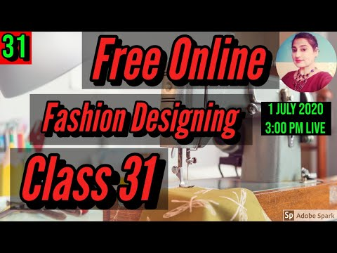 Free Fashion Designing Online Courses With Certificate Class 31 ...