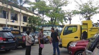 Polres Bantul Sita Empat Kontainer Isi Puluhan Motor dan Mobil Bodong