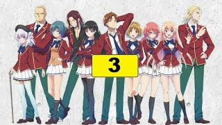 Classroom Of The Elite Episode 3 English Dub And English Subtitles #new