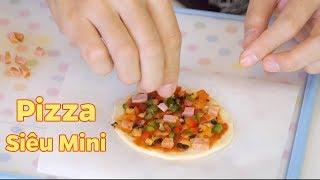 Làm Chiếc Bánh Pizza Siêu Mini Bằng Nồi Cơm Điện