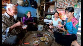 Lần đầu được ăn Cơm Cà Muối Mặn - Hương vị đồng quê - Bến Tre - Miền Tây