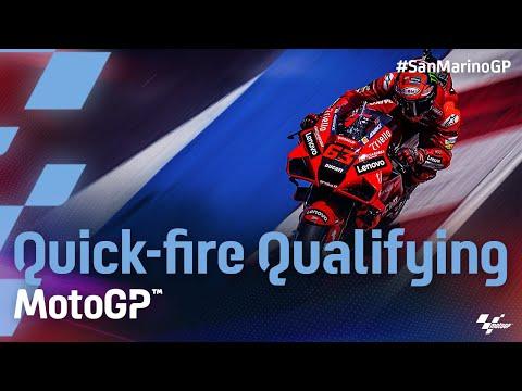 MotoGP 2021 第14戦サンマリノ 予選タイムアタックのハイライト動画