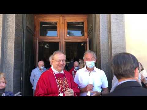 Da Piazza San Magno a Legnano: festa per i 40 anni di sacerdozio di mons. Cairati