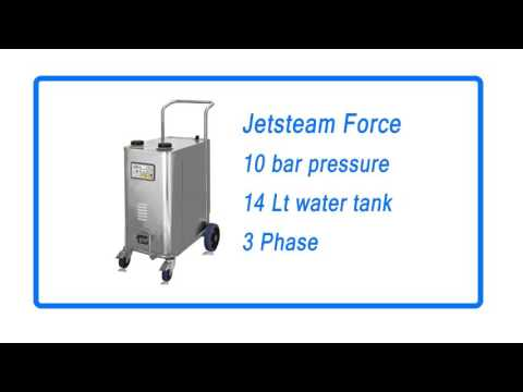 Jetsteam Force Industrial Steam Vac Cleaner