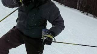 高宗第一次滑雪的精彩畫面