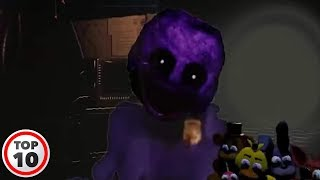 Top 10 Scary FNAF Purple Guy Facts