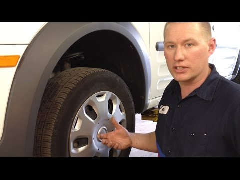 Ford Focus & Transit Connect Front Wheel Bearing Replacement