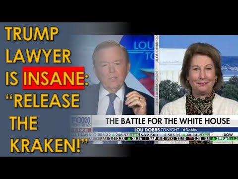 "Sidney Powell says she will ""RELEASE THE KRAKEN"" in Insane Lou Dobbs Interview"
