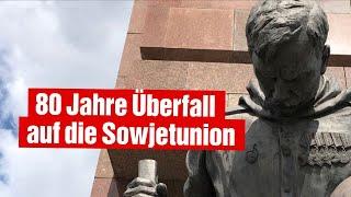 Veranstaltung der Linksfraktion: 80 Jahre Überfall auf die Sowjetunion