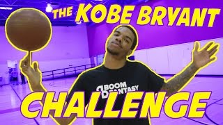 THE KOBE BRYANT CHALLENGE!! (Win a Free Xbox One or PS4) | BoomFantasy.com