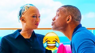 "(Video) ""Sophia the Robot on an Awkward Date with Actor Will Smith"""