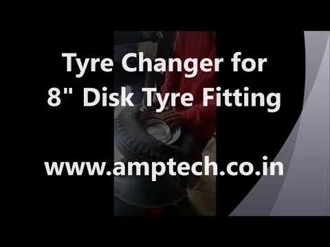 Tire Changer Machine in Jaipur, टायर खोलने की
