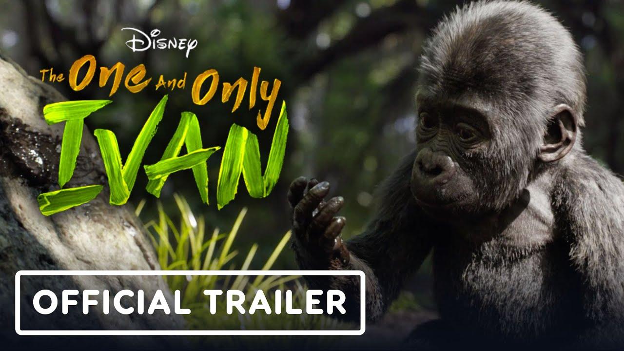 Трейлер семейной ленты «Айван, единственный и неповторимый»
