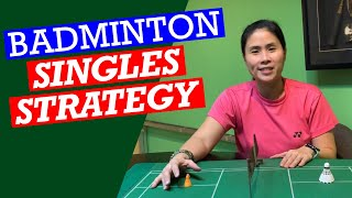 BADMINTON SINGLES STRATEGY- Gain the upper hand in singles with the right game plan #badminton