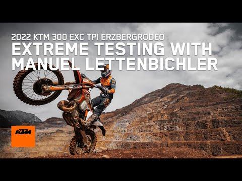 2022 KTM 300 XC-W TPI Erzbergrodeo in Goleta, California - Video 1