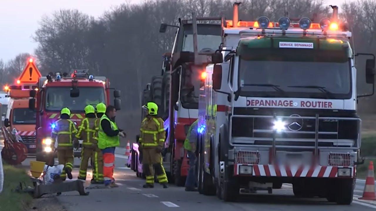 Carambolage entre trois camions… 0 blessé !