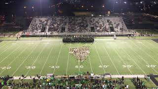 9.14.2018 Belles Halftime Show vs Permian (Odessa, TX) from Skybox